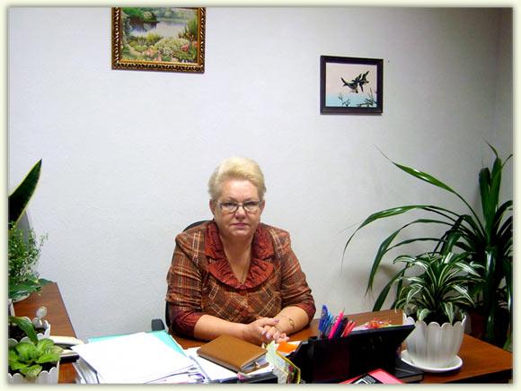 Председатель ПРОФСОЮЗА - Зинаида Колотенко